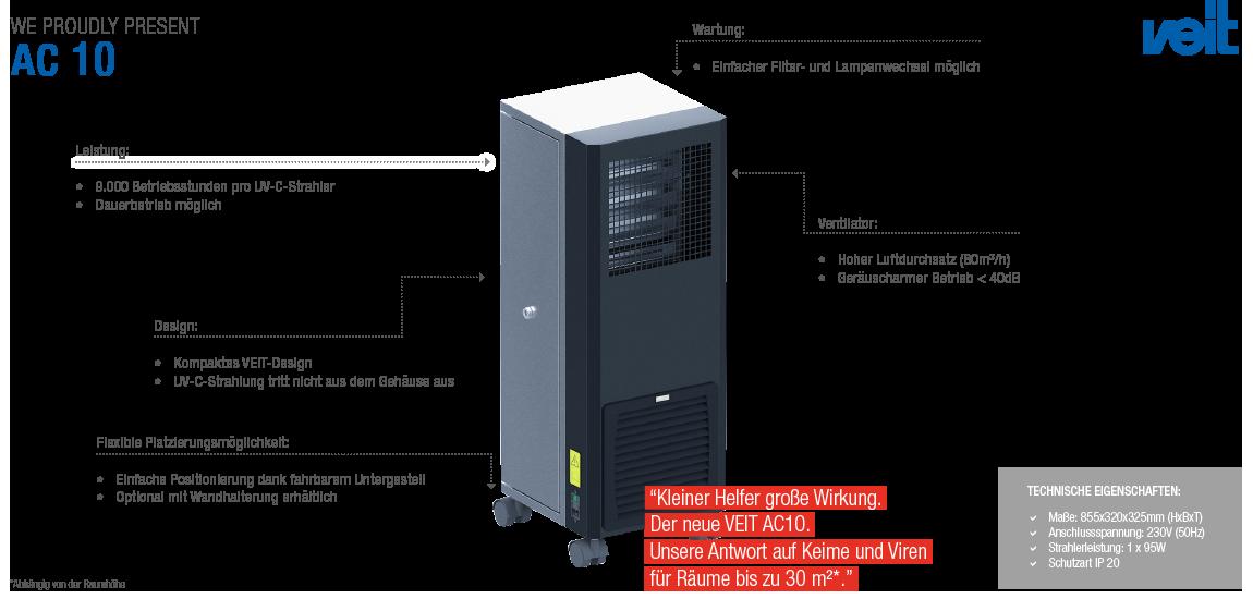 Bild von Luftreinigungsgerät AC10
