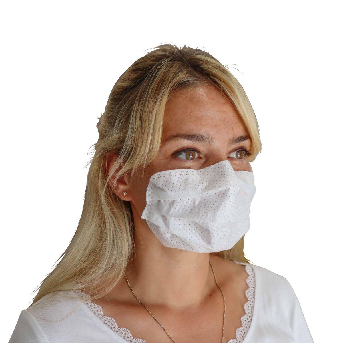 Bild von Innovative selbsthaftende Atemschutzmaske (10/20/50 Stück) mit besonderem Tragekomfort